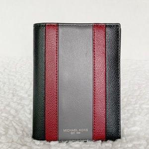 NWT Michael Kors Passport Case